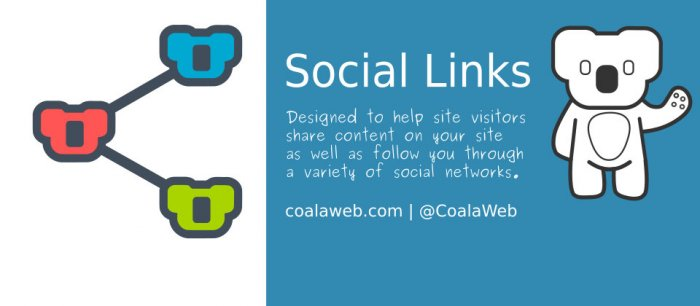 CoalaWeb Social Links 0.4.2