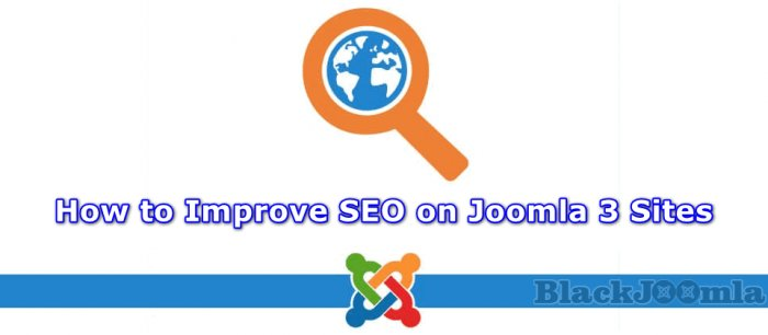 How to Improve SEO on Joomla 3 Sites