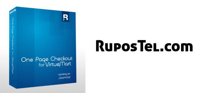 RuposTel One Page Checkout for VirtueMart 2.0.373