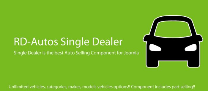 RD-Autos Single Dealer 4.2.0