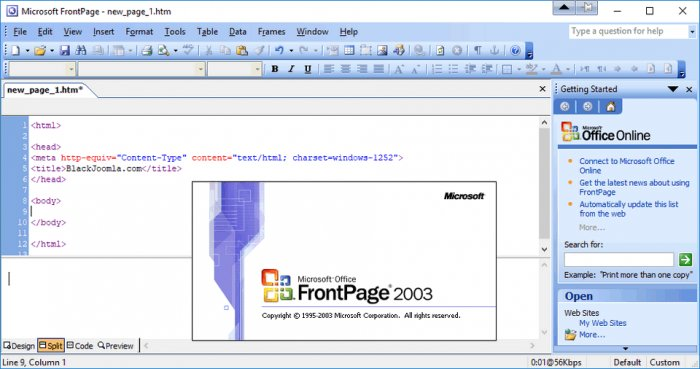 Microsoft FrontPage 2003 SP3