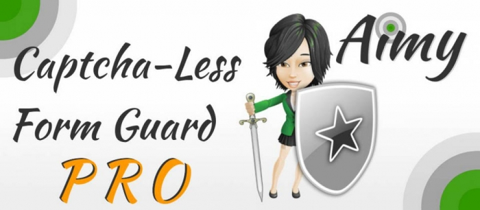 Aimy Captcha-Less Form Guard PRO 11.0