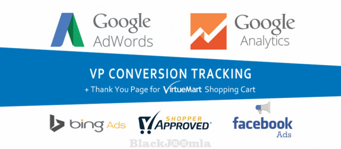 VP Conversion Tracking for VirtueMart 2.7