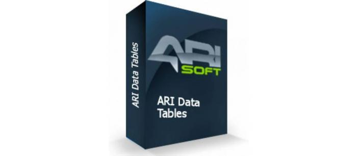 ARI Data Tables 1.16.4