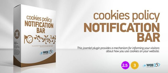 Cookies Policy Notification Bar 3.6.1