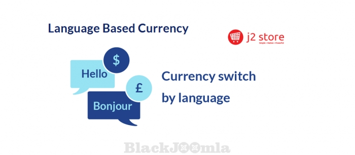 J2Store Language Based Currency 1.0