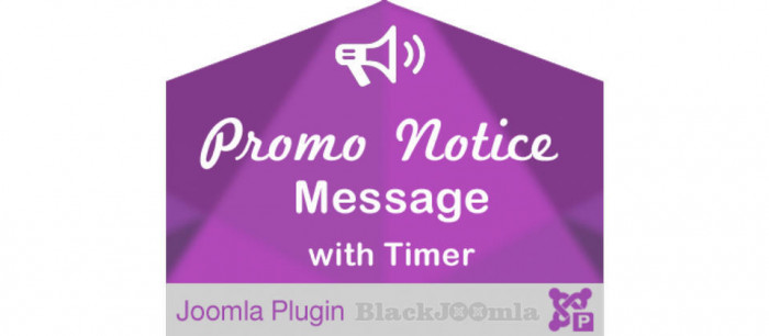 Promo Notice Message with Timer 1.5