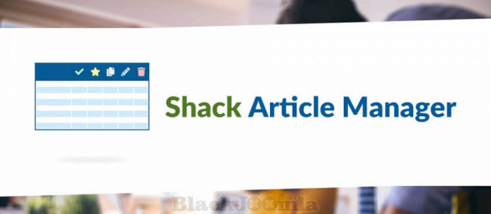Shack Article Manager 1.0.2