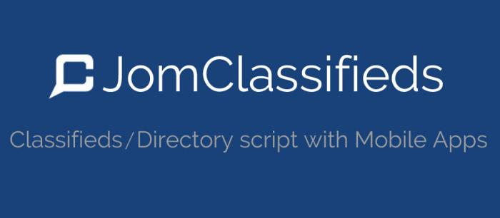 Jom Classifieds 3.5.1