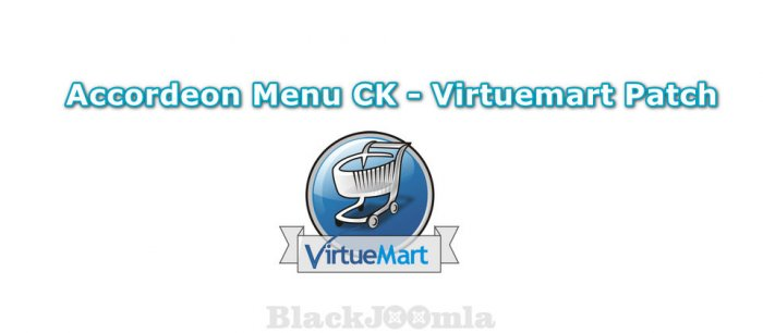 Accordeon Menu CK - Virtuemart Patch 1.0.0