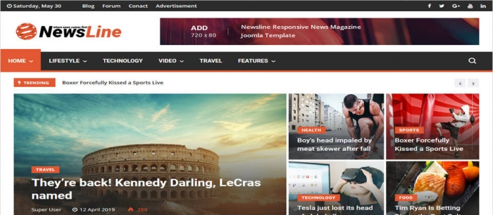 themeforest Newsline 3.0