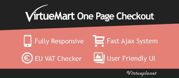 VP One Page Checkout for VirtueMart 6.8