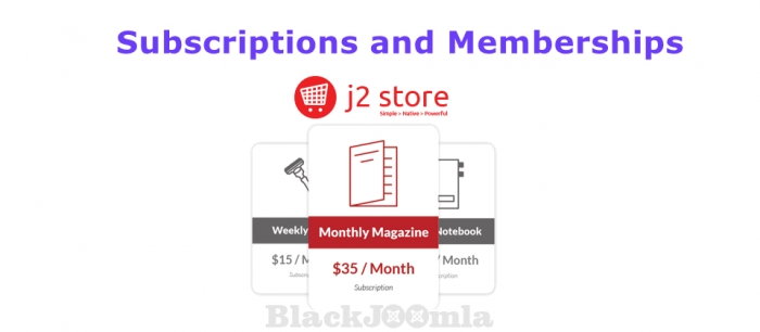 J2Store Subscriptions and Memberships 2.0.42