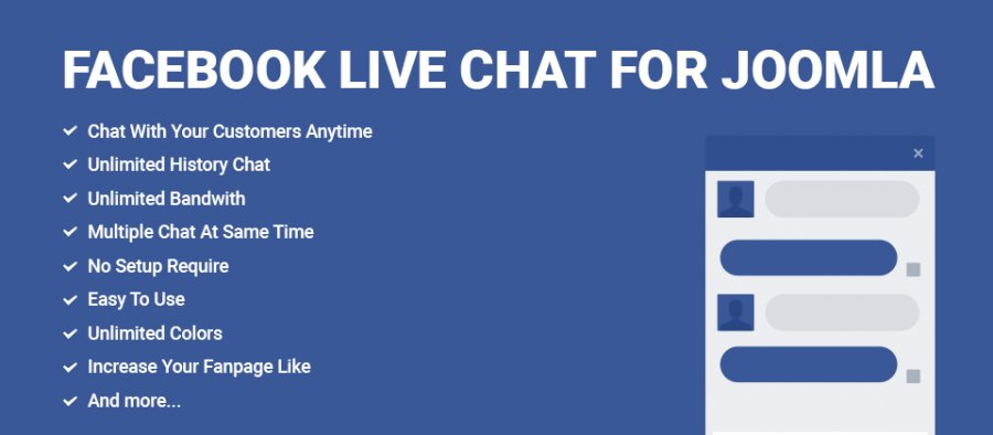 Facebook Live Chat For Joomla 10-5306